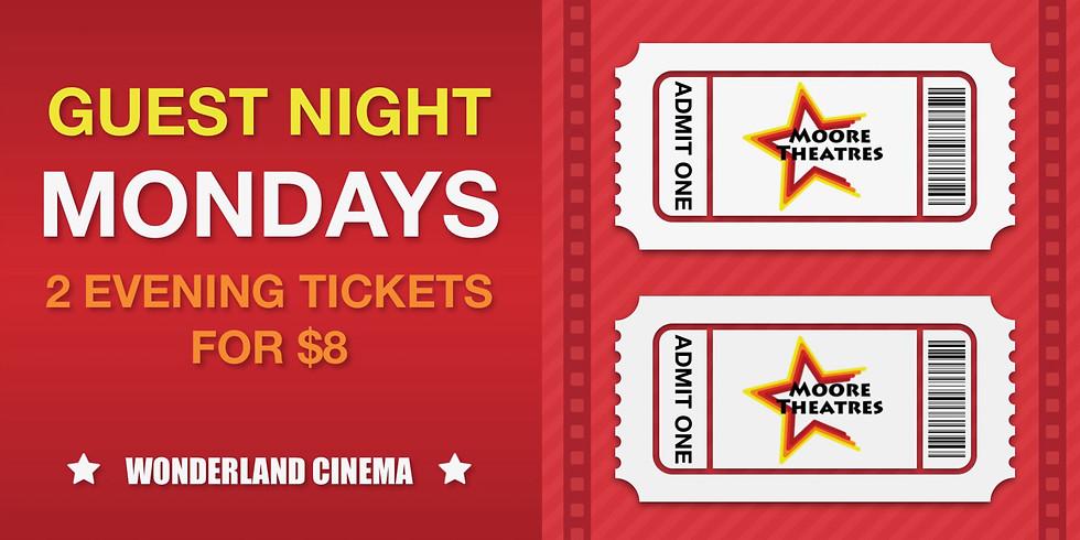 Wonderland Cinema Guest Night Mondays