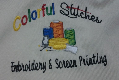 Colorful Stitches Embroidery