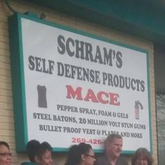 Schram Self Defense Products