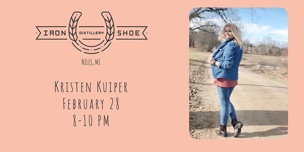 Live Music: Kristen Kuiper at Iron Shoe Distillery