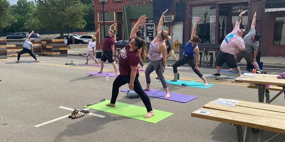 Yoga & Mimosas at the NODE
