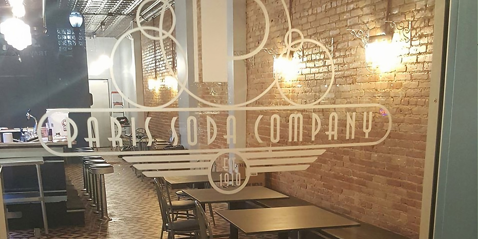 Paris Soda Co. is OPEN for carry-out!