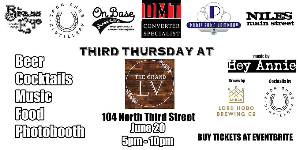 Third Thursday at The Grand LV