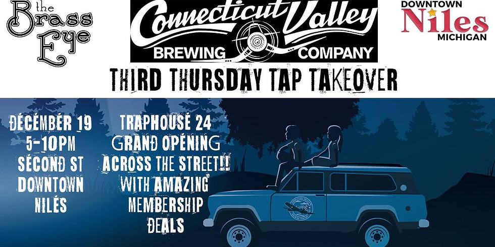 Third Thursday Tap Takeover w/ Connecticut Valley Brewing