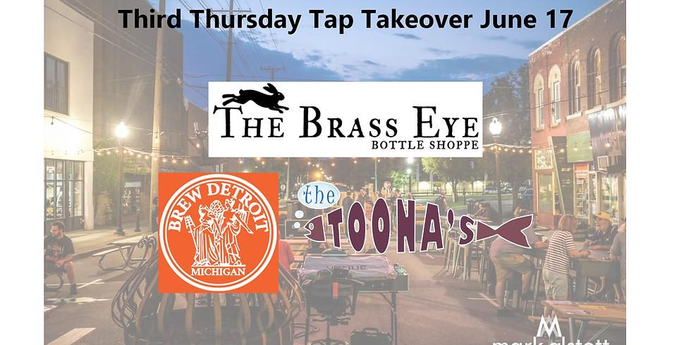 Brass Eye Third Thursday Tap Takeover w/ Brew Detroit