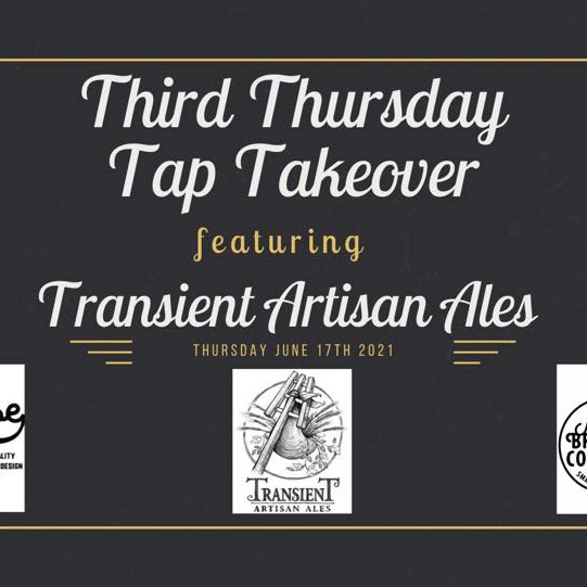 Niles Brewing Co. Third Thursday Transient Tap Takeover