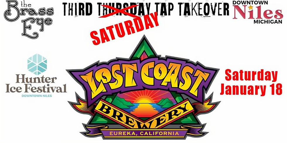 Lost Coast Tap Takeover for Hunter Ice Festival
