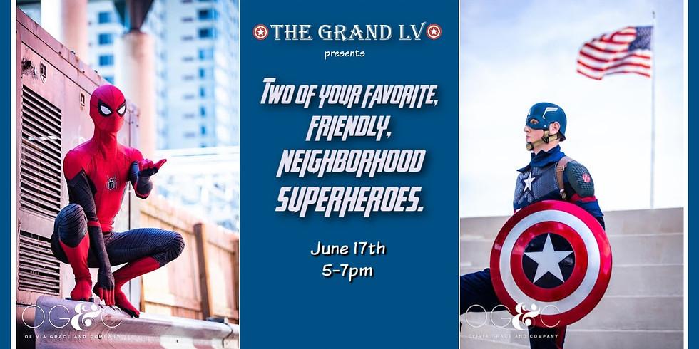 Superheroes Meet & Greet @ The Grand LV
