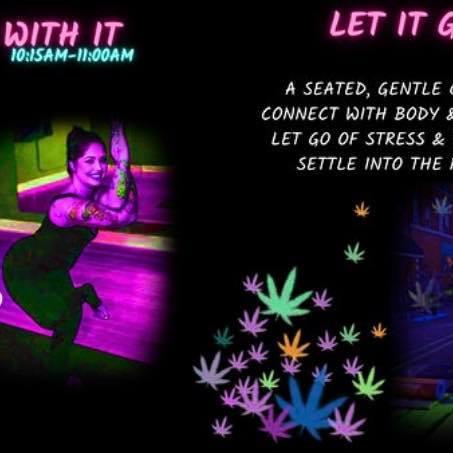 Yoga at Light Up The Night!!