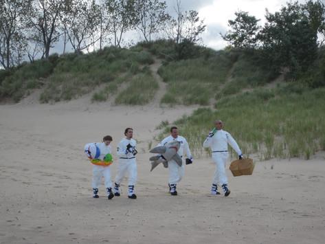 Astronauts on the Beach