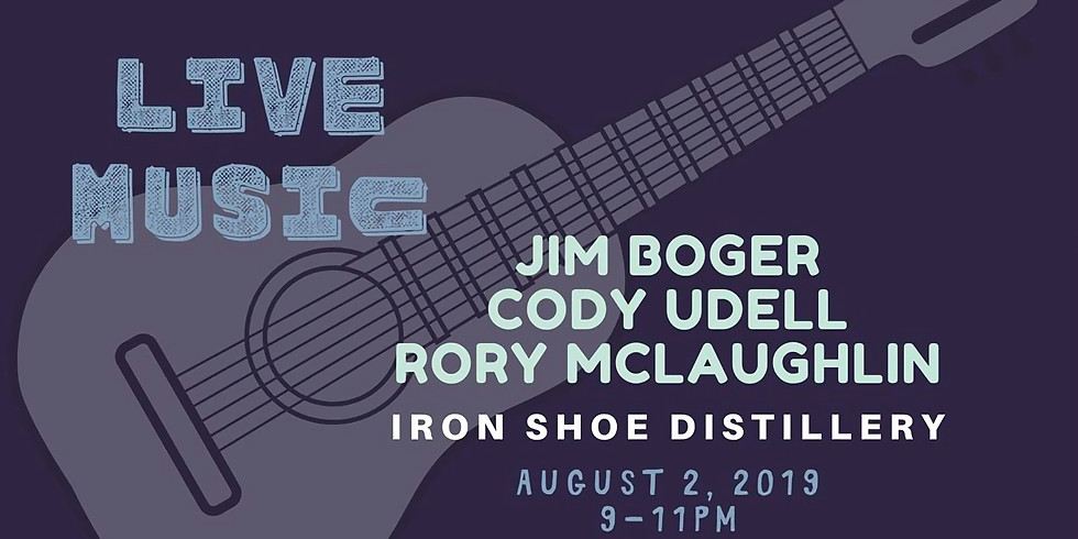 LIVE Music at Iron Shoe with Boger, Udell & McLaughlin
