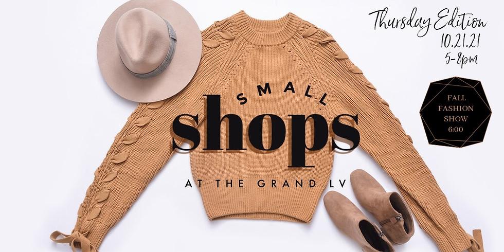 Small Shops + Fall Fashion Show