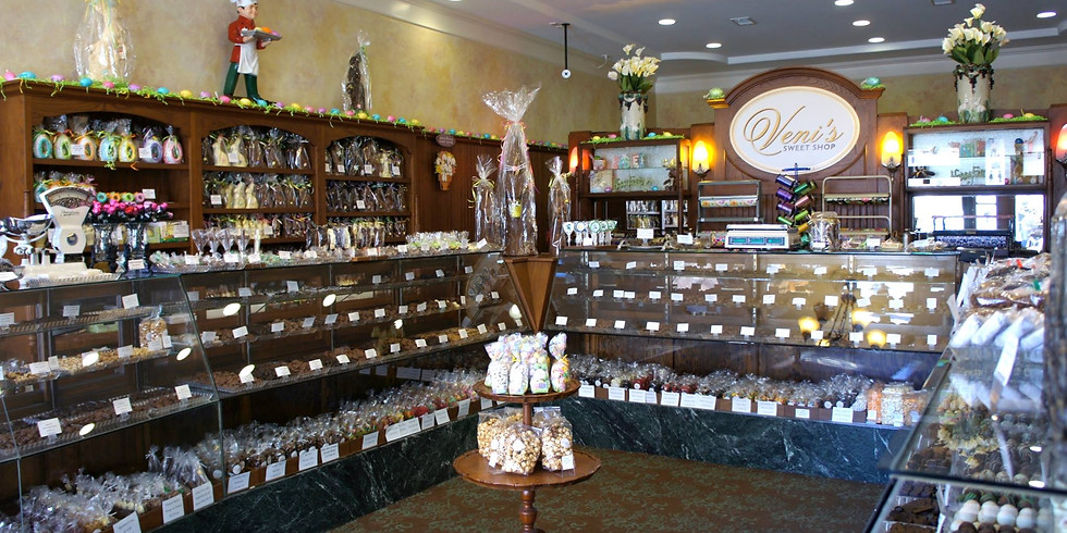 Veni's Sweet Shop is OPEN for in-store pickup, curbside pickup, delivery or shipping