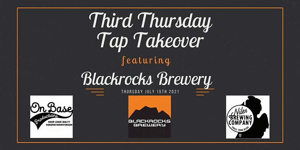 Niles Brewing Co. Tap Takeover featuring Blackrocks Brewery