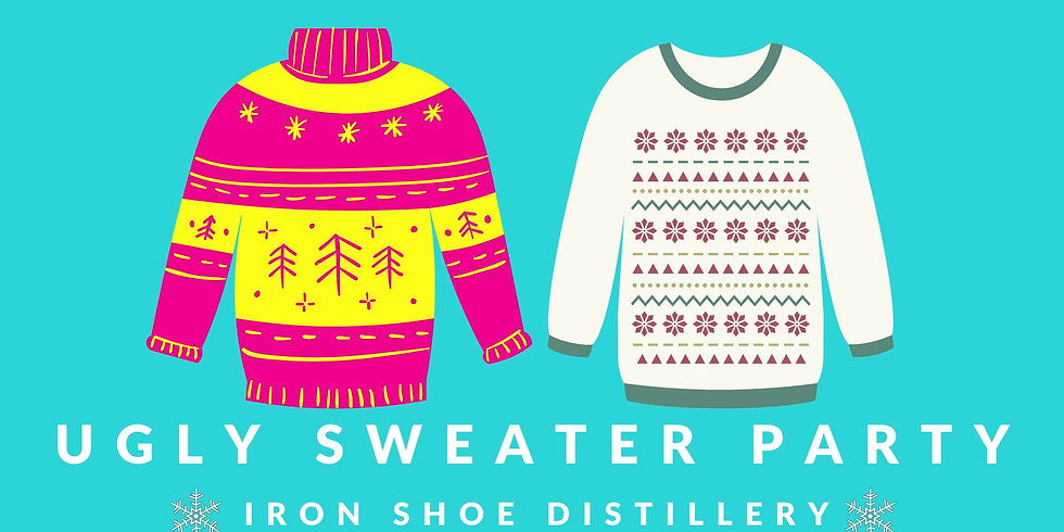 Ugly Sweater Party at Iron Shoe Distillery