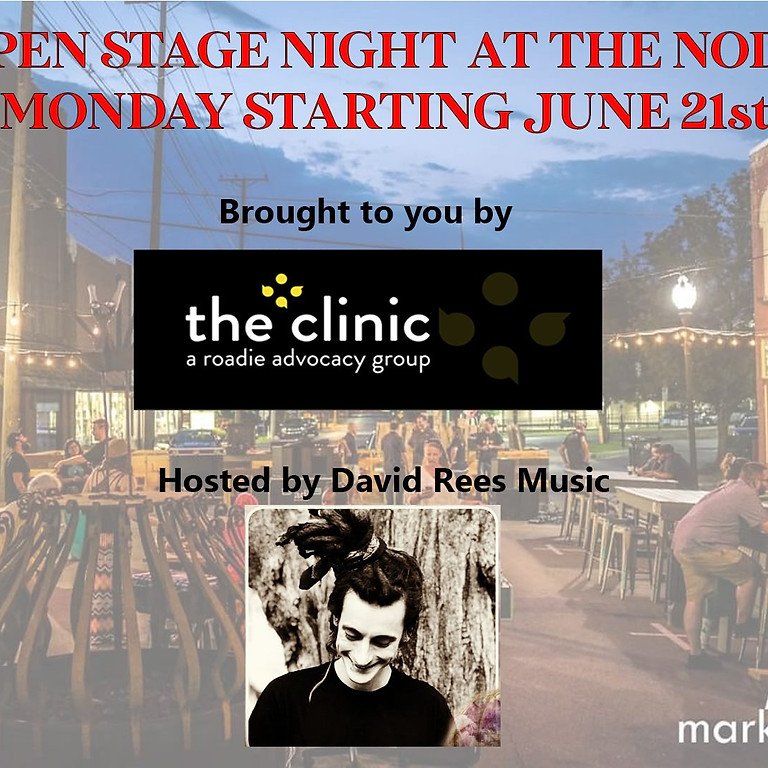 Open Stage at The NODE w/ The Roadie Clinic and David Rees Music