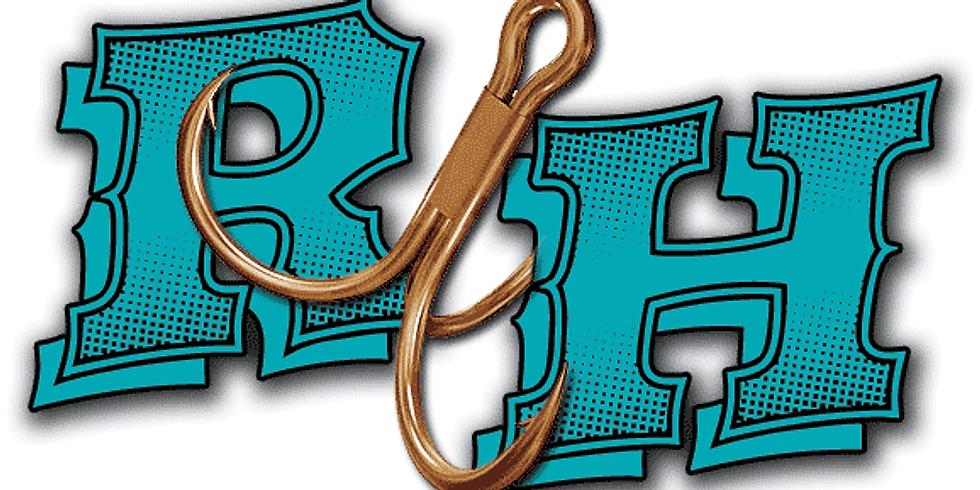 Rusty Hooks Bait & Tackle is OPEN