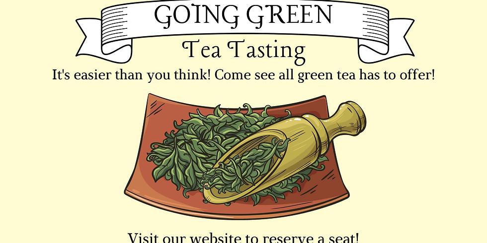 Going Green: Green Tea Tasting