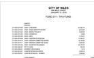 August 2021 Financials