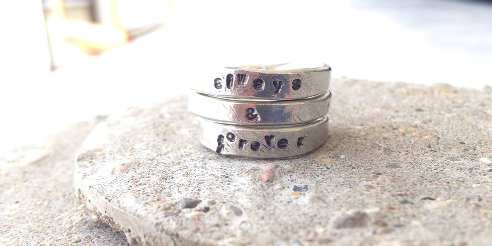 MAKE South Bend: Stamped Ring Class