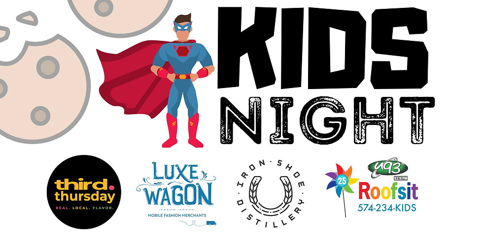 Iron Shoe Third Thursday Kid's Night