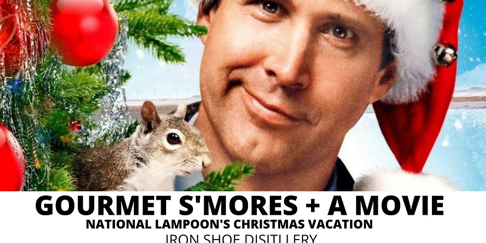 Gourmet S'Mores + A Movie at Iron Shoe Distillery