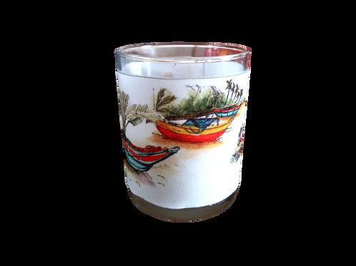 Bougie parfumée bateau sri lankais