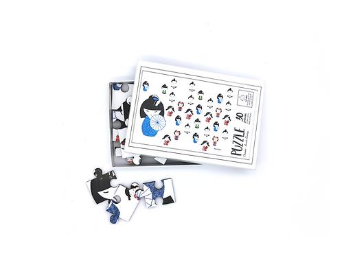 Puzzle Kokeshi