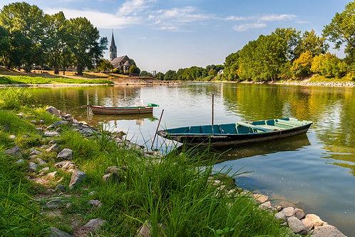 Cours en ligne Dessinez la végétation en bords de Loire