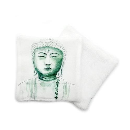 Lingette réutilisable bouddha