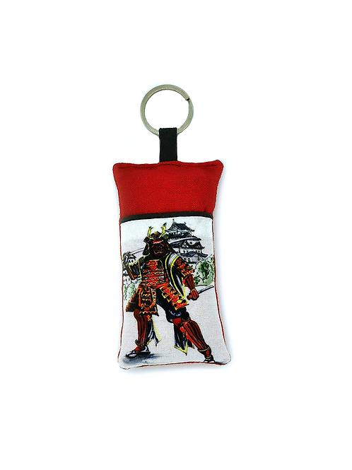 Porte-clef samouraï