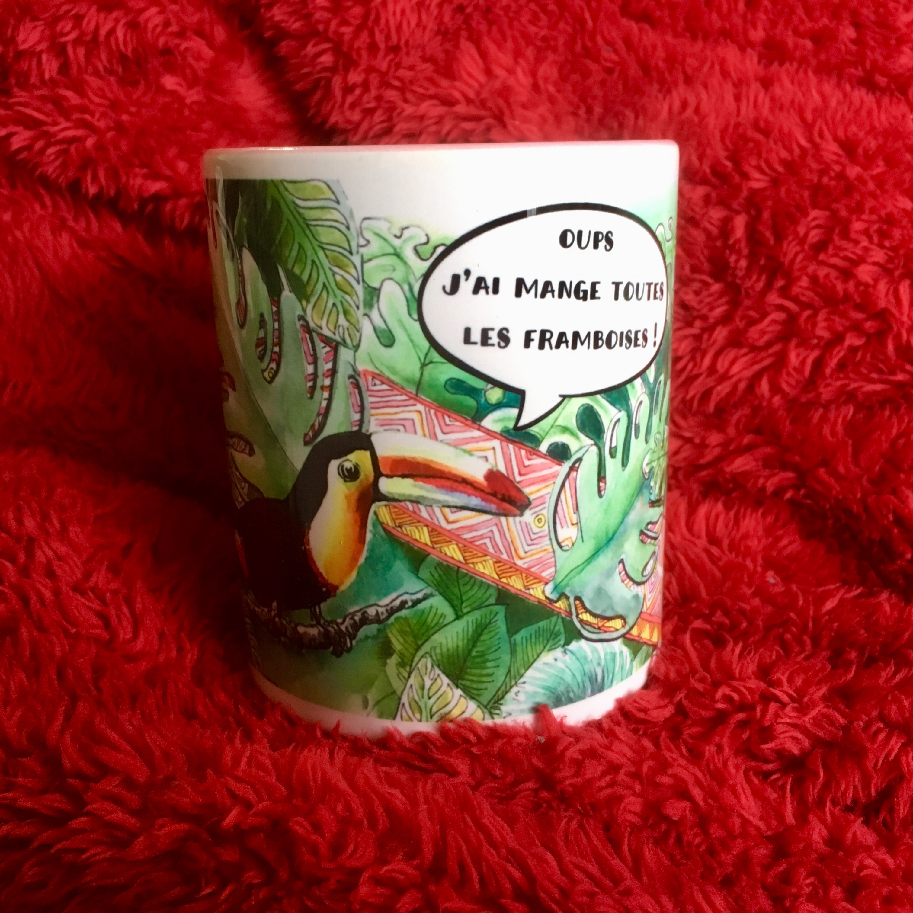 Mug colorée