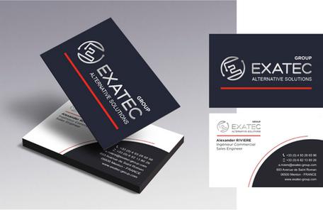 Identité visuelle d'Exatec Group