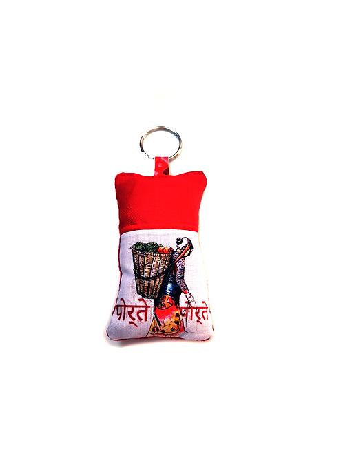Porte-clef porteuse Nepalaise