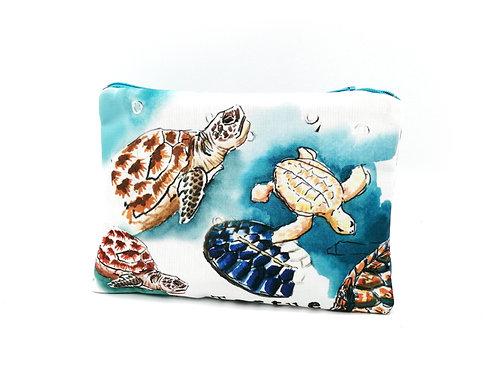 Trousse plate tortues de mer