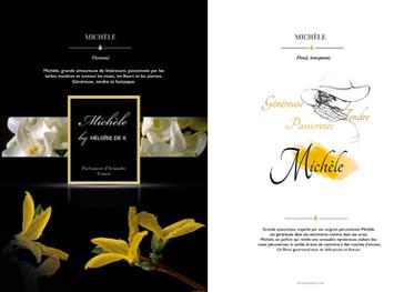 Création de l'identité visuelle de la marque Héloïse de V (Paris).