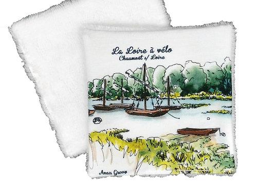 Lingette réutilisable Loire