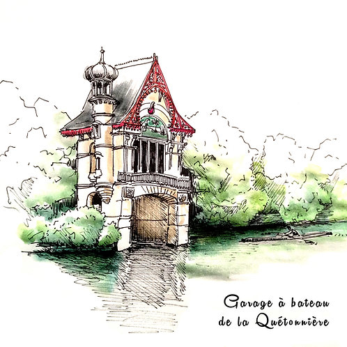 Carte Olivet Quétonnière