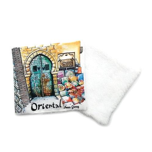 Lingette réutilisable -Oriental