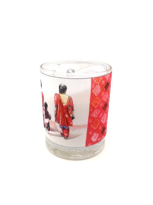 Bougie parfumée Femmes népalaises