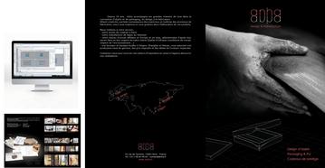 Création du logo et brochure de présentation de l'entreprise.