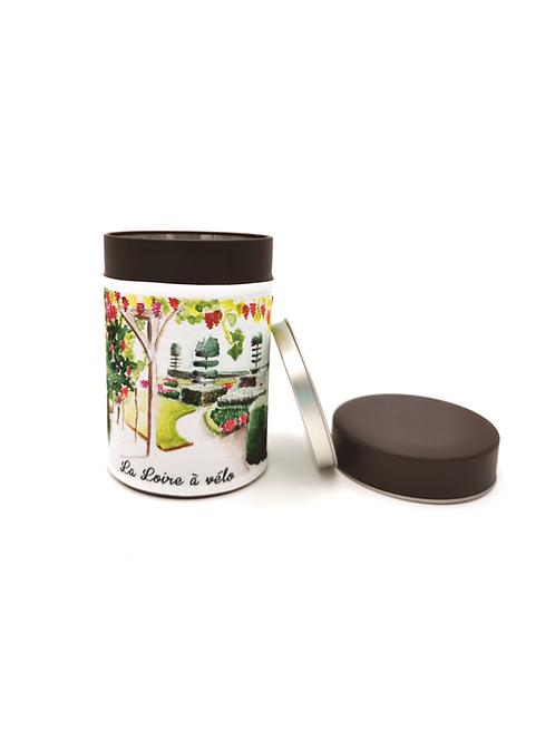 Boite à thé Loire et jardins