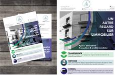 Création de l'identité visuelle d'AVS Immobilier