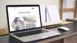 Site internet - Restaurant la Marine