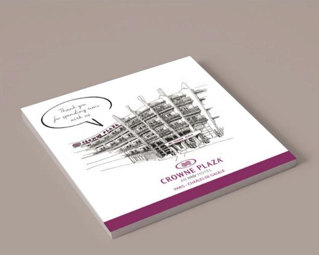 Graphisme / Hotel Crowne Plaza Paris.