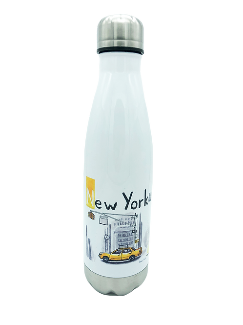 Bouteille inox isotherme New York 500ml