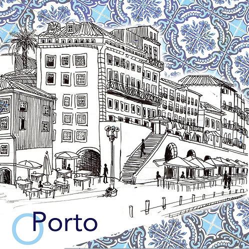 Carte postale Porto