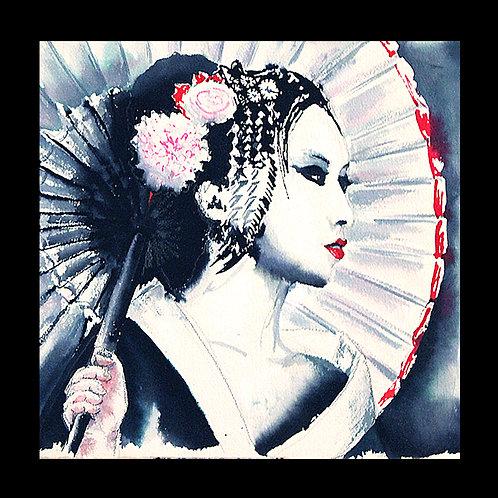 Carte postale Japon geisha