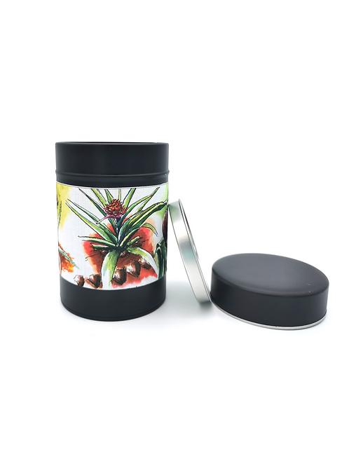 Boite à thé jardin botanique