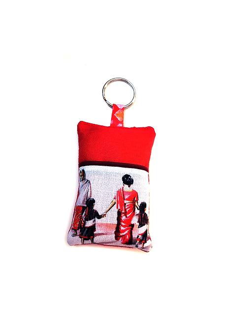 Porte-clef femmes Nepalaises